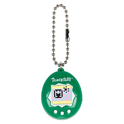 Tamagotchi Mini, White/Green: Toys & Games