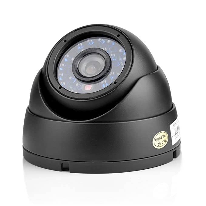 Funlux ® 8CH 960H, DVR Video-Kit de vigilancia exterior 4 cámaras de alta resolución, 600TVL Dome diurna y nocturna, impermeable, cámara de vigilancia, ...