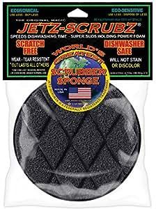 Jetz-Scrubz Scrubber Sponge, Round