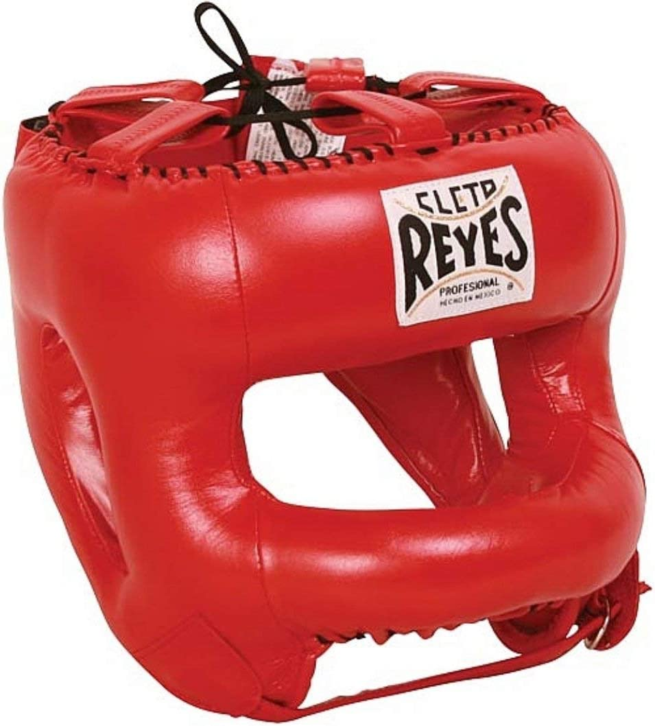 Cleto Reyes Headgear withナイロン面バー 赤.