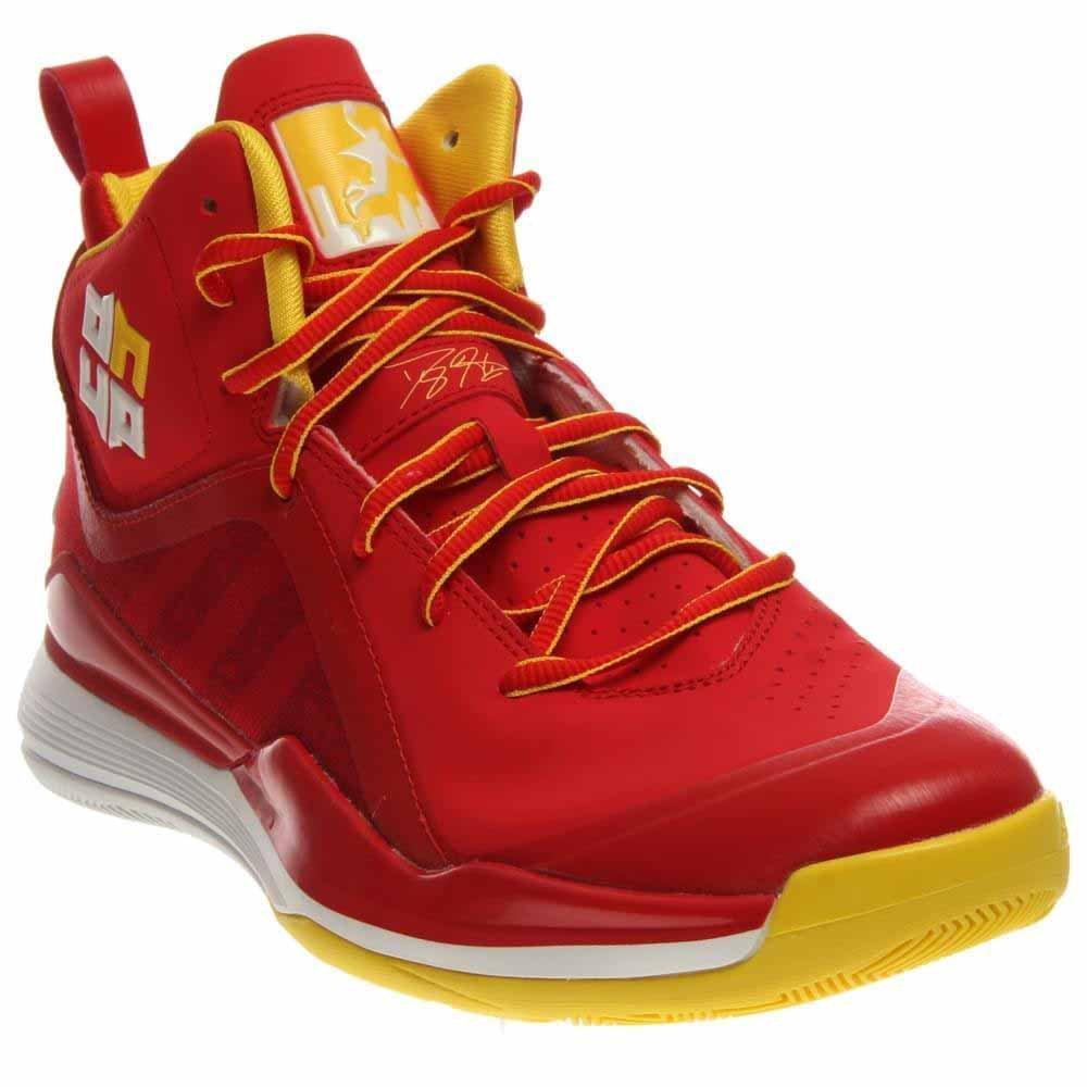 adidas Men's D Howard 5 Basketball Shoe B00HM7TKIW 12 D(M) US|Light Scarlet/White/Sun
