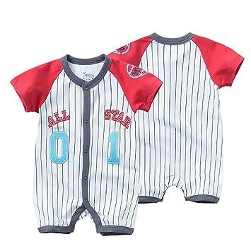 Amazon.es: Traje de Ropa para Bebé niños recién Nacidos Batas de Verano Mameluco de Manga Corta, Numero 01 All Star [73CM]: Juguetes y juegos