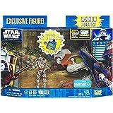Amazon.com: Star Wars Deluxe – Figura con vehículo – Clone ...