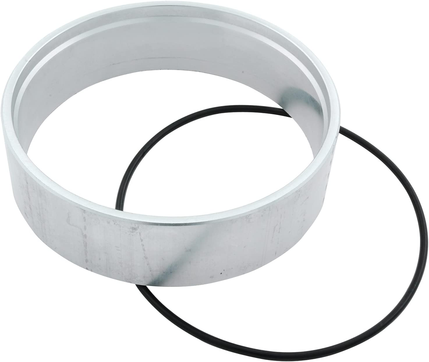 X AUTOHAUX 1//2 Inch Air Cleaner Spacer Riser Air Filter Spacer for Ford 350 Silver