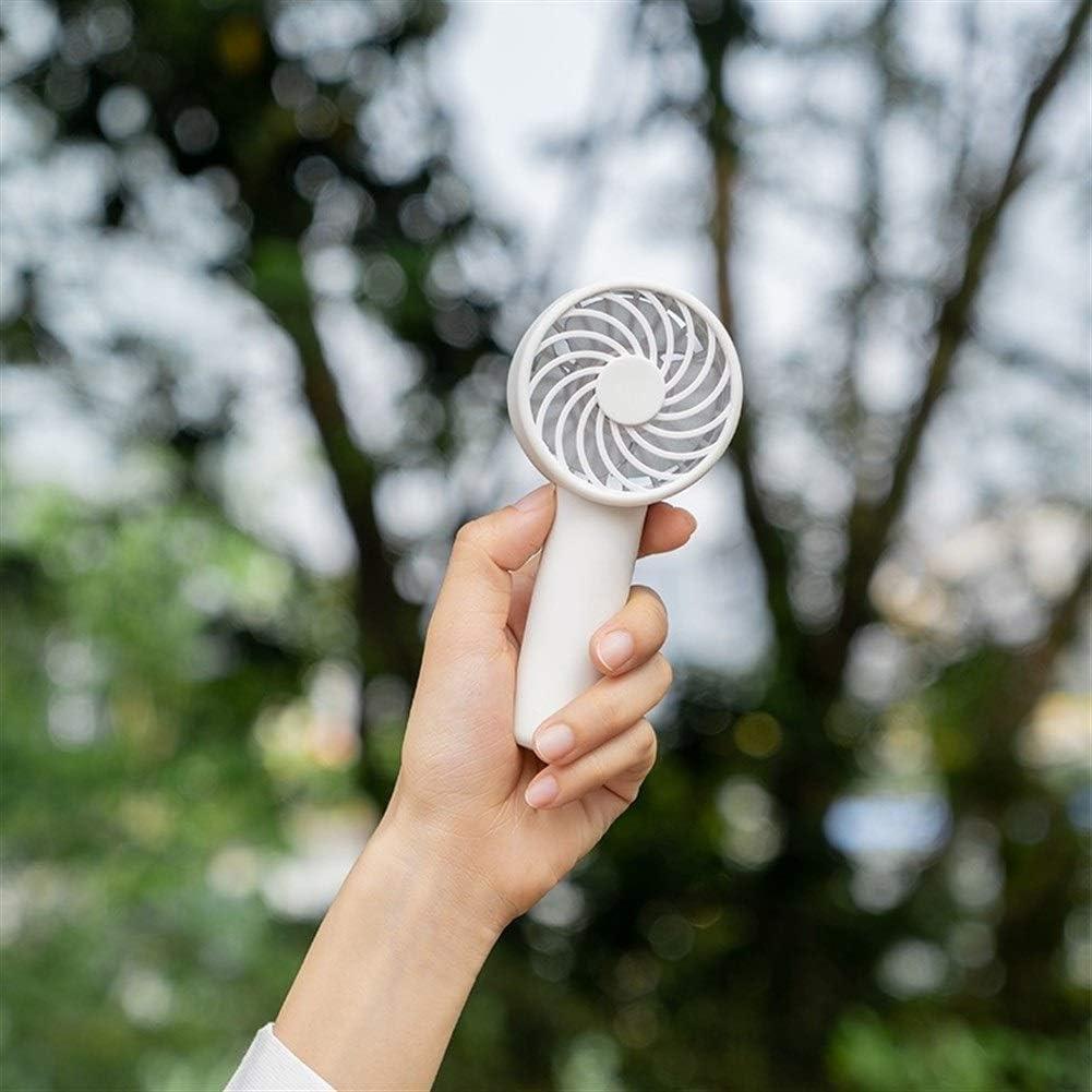 Air Cooling Fan Mini Portable Round Fan USB Handheld Desktop Electric Fan Outdoor Personal Cooling Fans