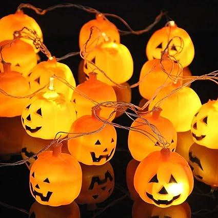 20 luci a LED a forma di zucca extra large. Decorazione perfetta per le  feste d8d937f020cc