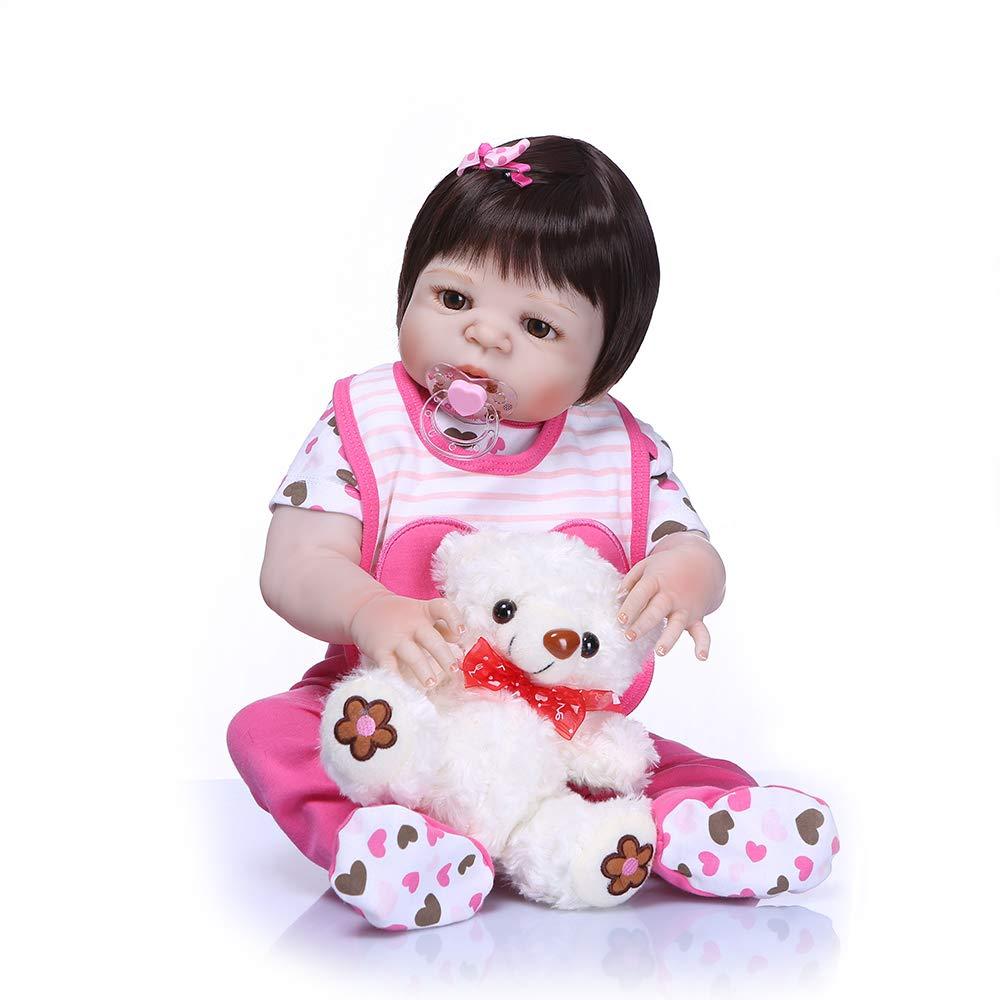 新作商品 Funny House 23インチ57cm 工場販売 新生児 赤ちゃん リボーンドール 23インチ57cm Funny ファッション 人形 シリコン ビニール キュート ガール 解剖学的に正しいクリスマス ギフト 工場販売 対象年齢3歳以上 B07GDJDX5N, おひさまくらぶ:03b74a1c --- pmod.ru