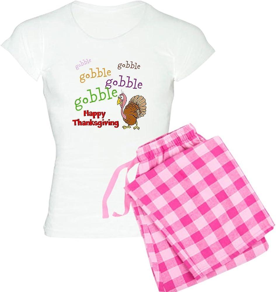 CafePress Thanksgiving Womens Light Pajamas Womens PJs