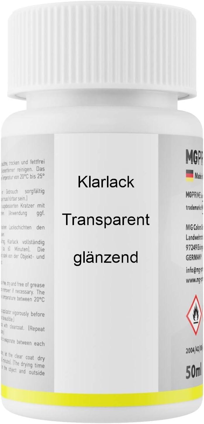 Mg Prime Autolack Lackstift Set Für Mercedes 9799 799 Diamantweiss Perleffekt Designo Diamantweiss Bright Grundlack Basislack Klarlack Je 50ml Auto