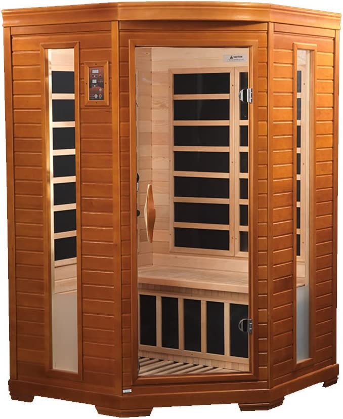 Dynamic Heming 2-person corner Low EMF Far Infrared Sauna