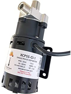 Home Brew Pumps TCPSS-CI Chugger Mini Max 115//230 Volt Brewing Pump Stainless S