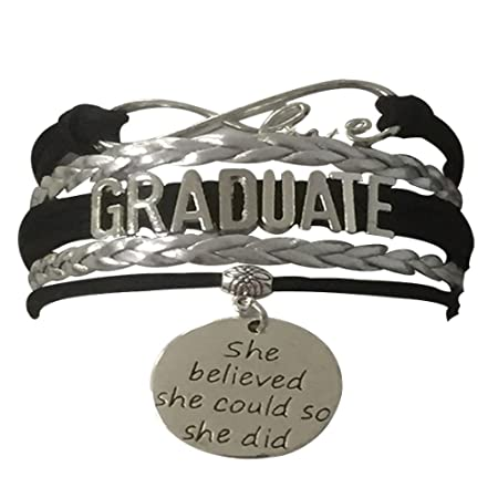 Infinity Collection Graduation Jewelry, Class of 2020 Graduate Bracelet- Perfect Graduation Gift