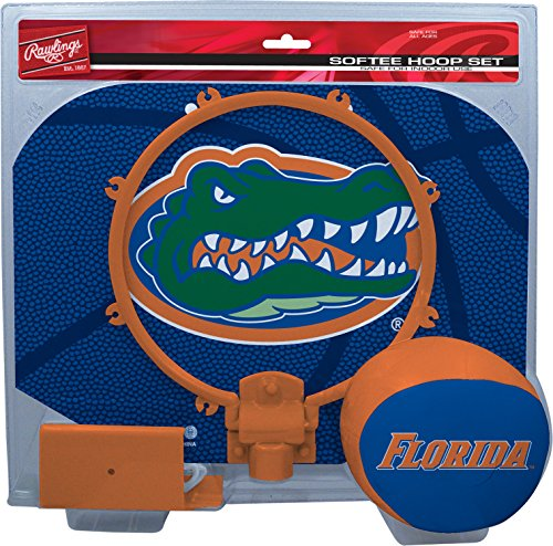 NCAA Florida Gators Kids Slam Dunk Hoop Set, Blue, Small