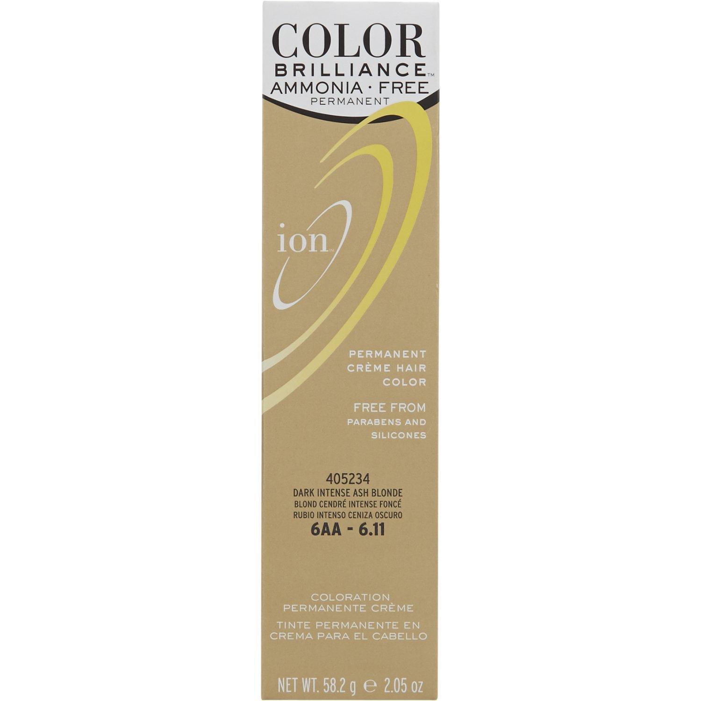Amazon Ion Sally Beauty Ammonia Free Hair Color 6aa Dark