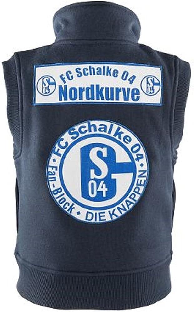 FC Schalke 04 Fanschal Schal Block  Schalke-Logo