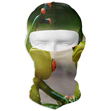 Sdltkhy Funny Frog Do Yoga Winter Ski Mask Balaclava Hood ...