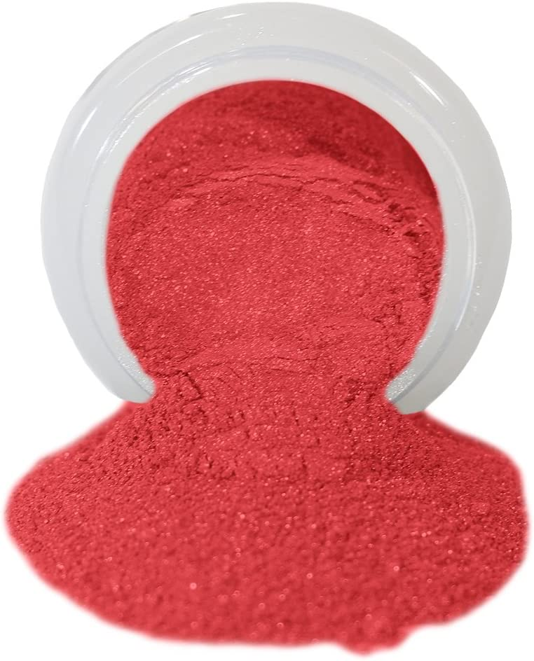 ColorPops by First Impressions Molds Pearl Red 10 Edible Powder Food Color For Cake Decorating, Baking, and Gumpaste Flowers 10 gr/vol single jar