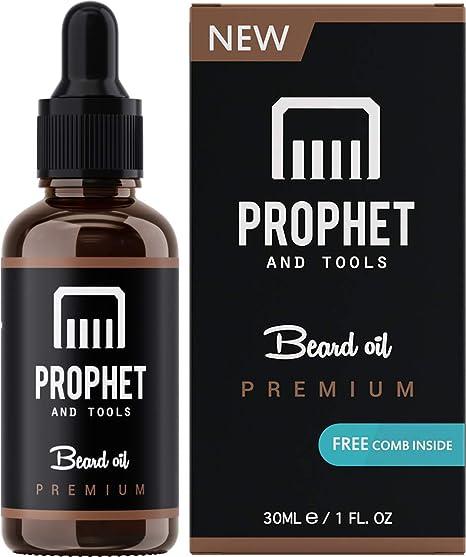 Prophet and Tools ¡Conjunto de peine de barba y aceite de barba! GRATIS Ebook