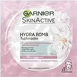 Garnier SkinActive Hydra Bomb Tuchmaske, für trockene und sensible Haut, intensiv feuchtigkeitsspendende und beruhigende Maske, 5er Pack (5 x 32 g)