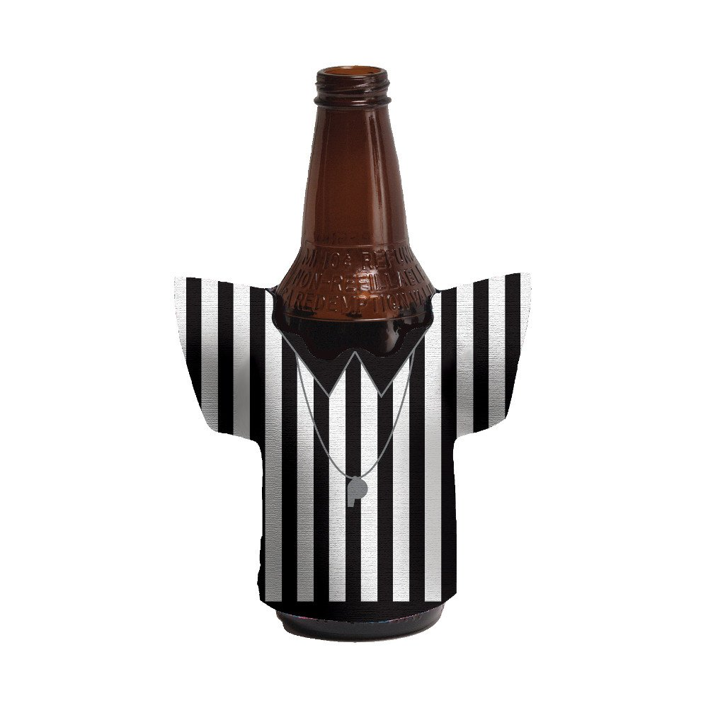 Referee drink cozy for Football Party by BellaGrey Designs