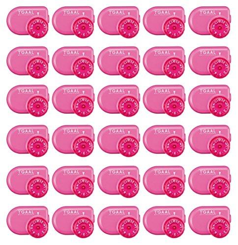 Kutsuwa STAD Angle Adjustable Pencil Sharpener T'GAAL, Pink, Value Set of 30 by Kutsuwa