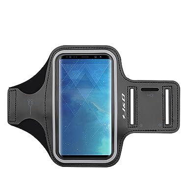 big sale 3ecda 6d13b J&D Armband Compatible for Galaxy S8 Plus/Galaxy S9 Plus Armband, Sports  Armband with Key Holder Slot for Samsung Galaxy S8 Plus, Samsung Galaxy S9  ...