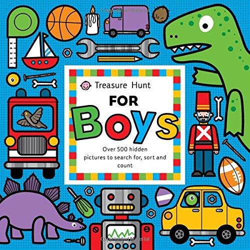Treasure Hunt for Boys (Priddy Books Big Ideas for Little People)