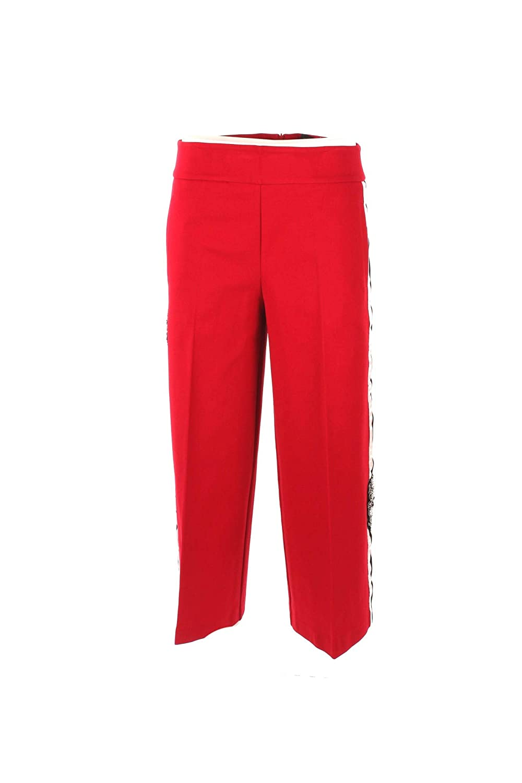 Pantalone Donna Twin-Set 40 Rosso Pa821d Autunno Inverno 2018/19
