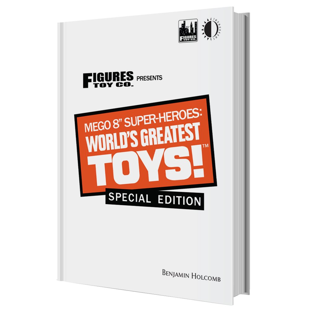Mego 8 Inch Super-Heroes World/'s Greatest Toys Hardcover Book Special Edition