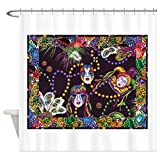 "CafePress Mardi Gras Shower Curtain Decorative Fabric Shower Curtain (69""x70"")"