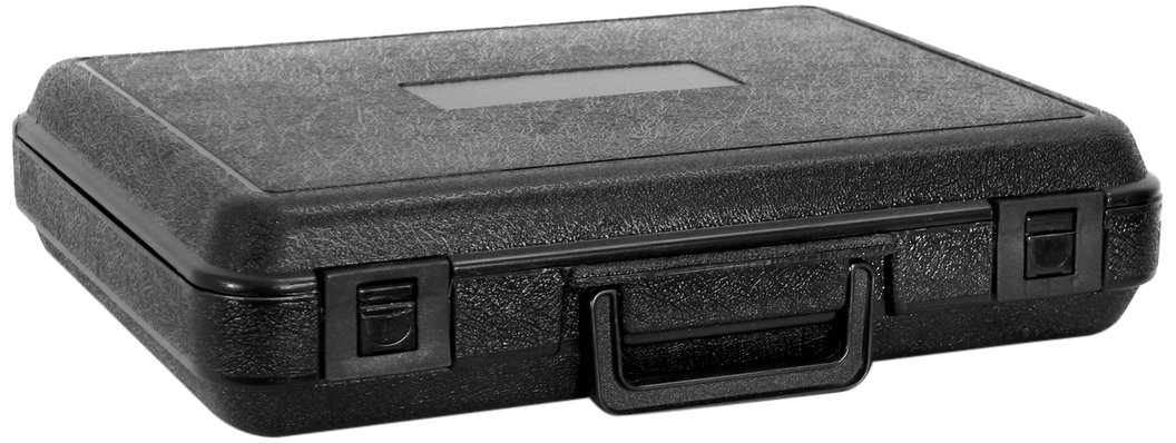 Cases By Source B1393F Blow Molded Foam Filled Carry Case, 13.99 x 9.99 x 2.875, Interior