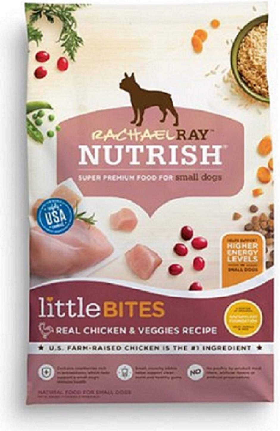 Rachael Ray Nutrish Natural Dry Dog Food 2 Pack, Small Dogs Chicken