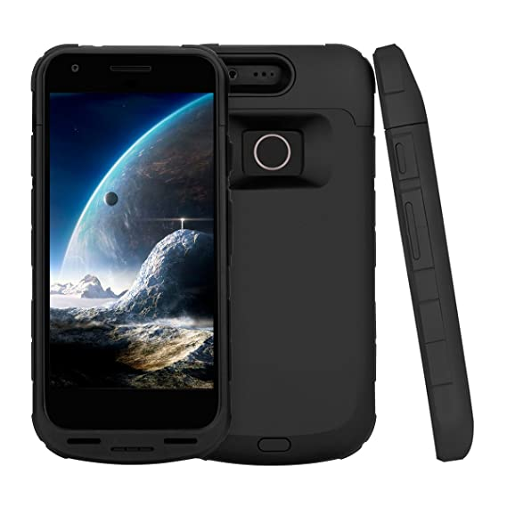 wholesale dealer b1129 7f3af Amazon.com: Pixel Battery Case,ICONIC External Extended Battery ...