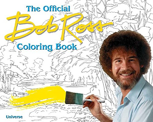The Bob Ross Coloring Book [Bob Ross] (Tapa Blanda)