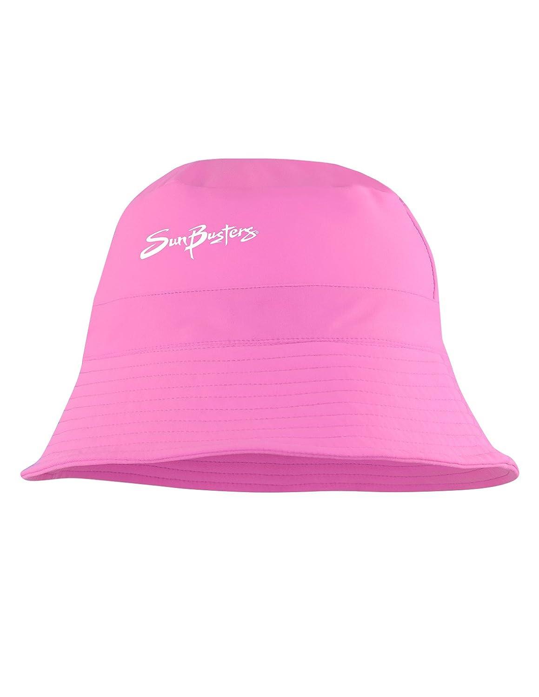 SunBusters Chicas UPF 50+ Sun–Sombreros de Cubo