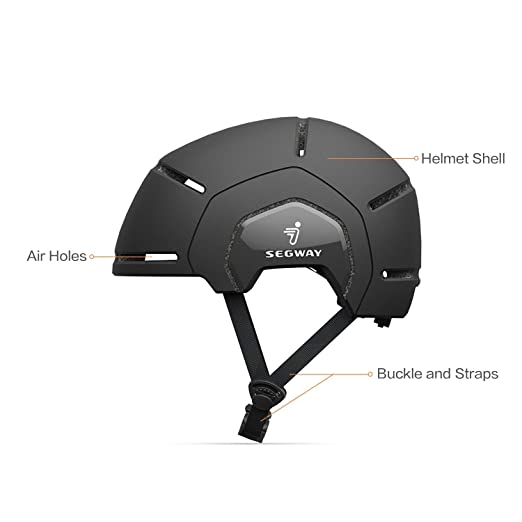 Amazon.com: Segway Ninebot - Casco para bicicleta, scooters ...