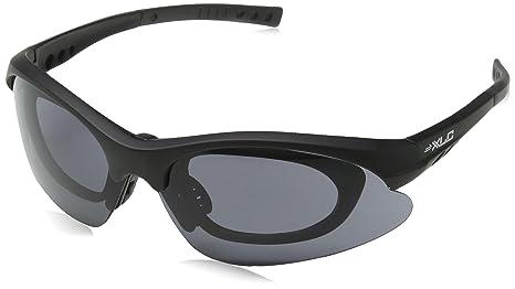 Xlc Occhiali Da Sole Bahamas Montatura Nera Satinata, Per Occhialuti