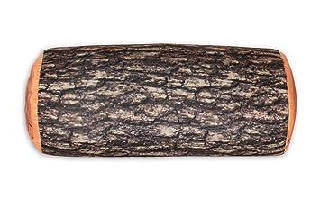 Magideal oreiller coussin créatif forme de bûche confortable décor