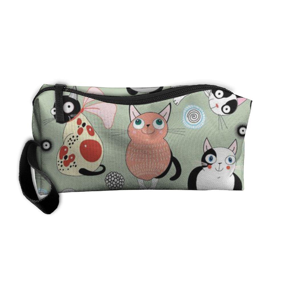 Cartoon Cat Fashion Waterproof Multifunction Portable Storage Luggage Bag 80%OFF