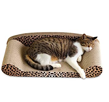Muodu - Rascador para Gatos en Forma de sofá: Amazon.es: Productos para mascotas