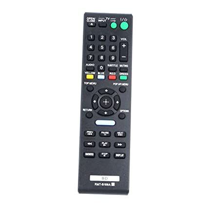 amazon com zdalamit new rmt b109a universal remote control fit for rh amazon com Sony BDP BX58 Remote Sony BDP-BX58 Rear