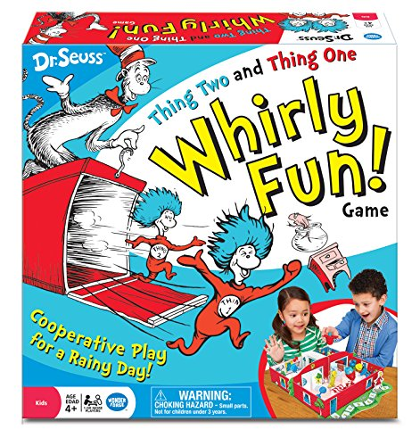 Dr. Seuss Thing Two Thing One Whirly Fun Game (Cat In The Hat Thing 1)