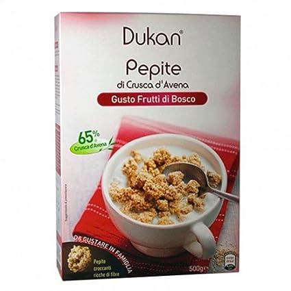 Pepitas de salvado de avena Dukan D'Ai Rojo Frutas 350g