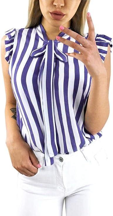 Camisas Mujer Verano Chalecos Flecos Elegantes Moda Casual ...