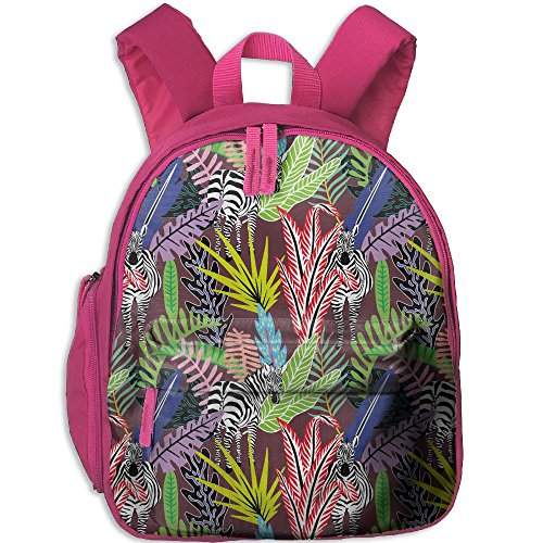 Children Pre School Backpack Boy&girl's Wild Animal Zebra Jungle Book ()