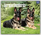 For the Love of German Shepherds Deluxe - 2017 Calendar 14 x 12in