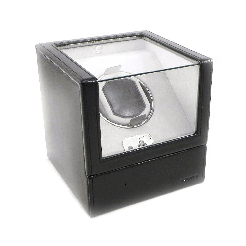 Leather box 'Munich' spezielle schwarze armbanduhr automatische.