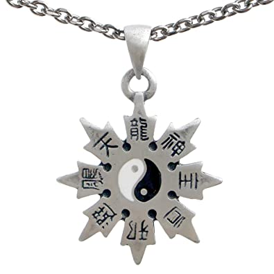 OhDeal4U Throwing Star Yin Yang Shaolin Shuriken Peltre ...