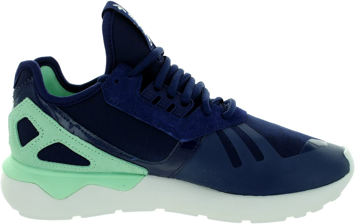 adidas Women's Originals Tubular Runner Fashion Sneaker Night Sky/Frozen Green