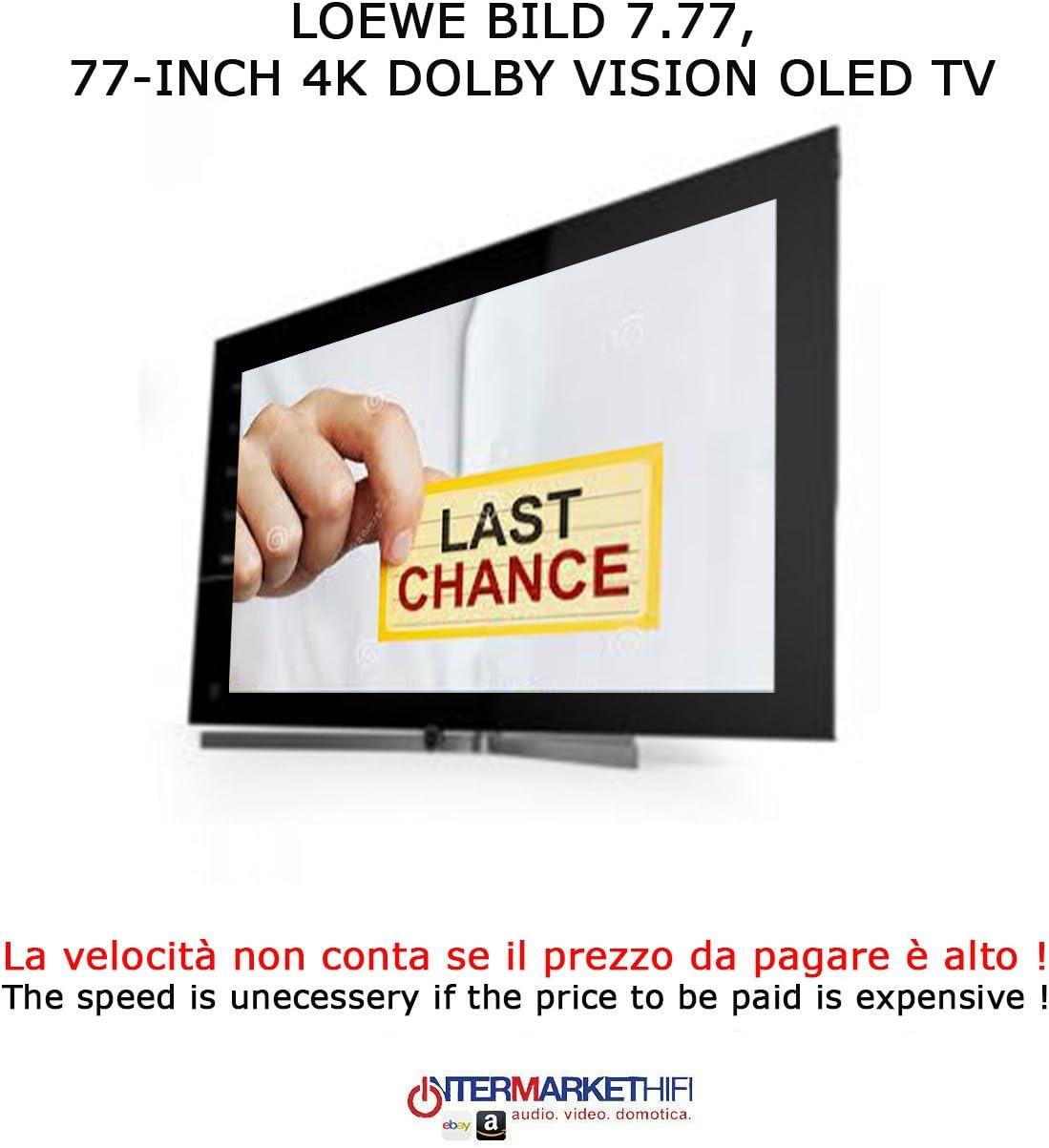 LOEWE Bild 7 – 77 TV OLED 4 K Hdr Potencia Audio 120 W TV HIFI ...